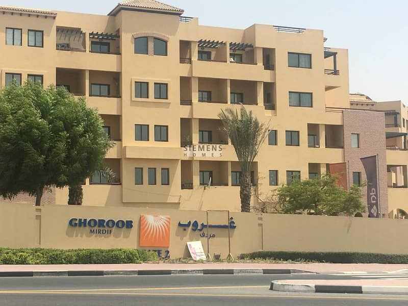 BRAND NEW AMAZING 2BHK IN GHOROOB * NO COMMISSION*12CHQS