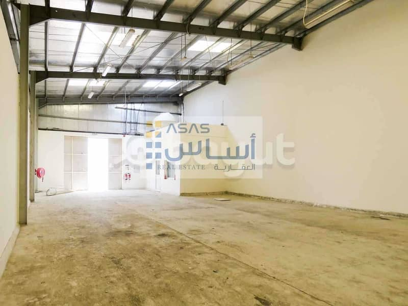JJJ Warehouse available for rent in Industrial Area 18