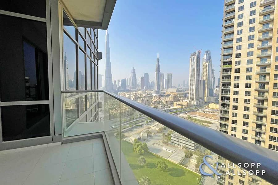 Burj Khalifa View   974 Sq Ft   High Floor