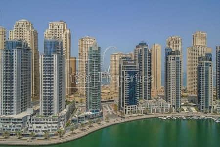 شقة 3 غرف نوم للبيع في دبي مارينا، دبي - Full Marina view   Upgraded   3BR +Maid