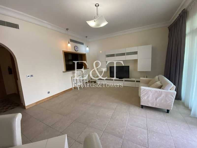 2 Vacant 2 BR | Furnished | Large Balcony|