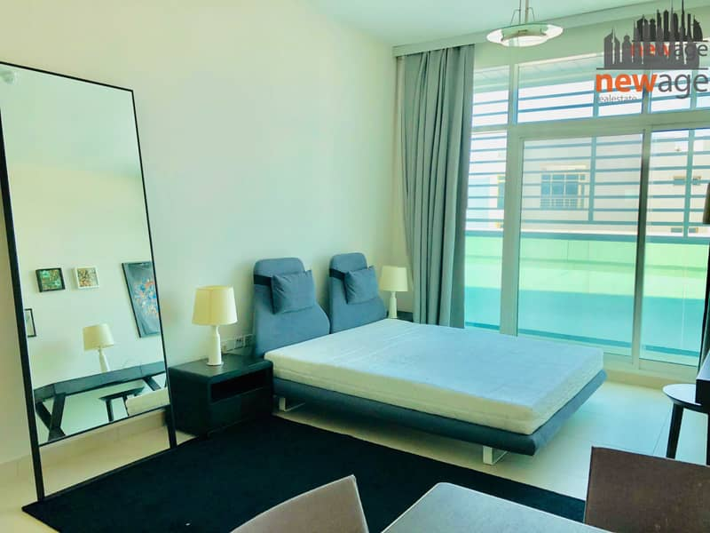 Large Furnished Studio for RENT in Hilliana Tower Al Sufouh