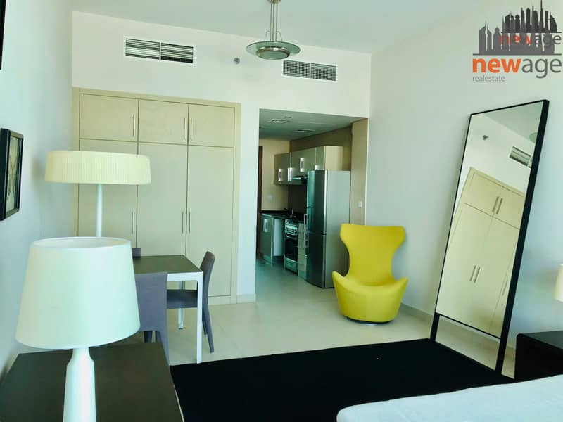 2 Large Furnished Studio for RENT in Hilliana Tower Al Sufouh