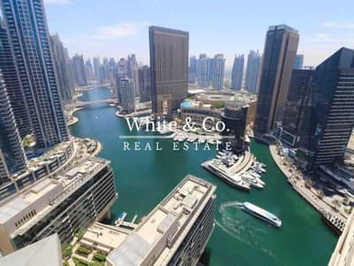 فلیٹ 2 غرفة نوم للايجار في دبي مارينا، دبي - Fully Furnished | Marina view | Chiller Free