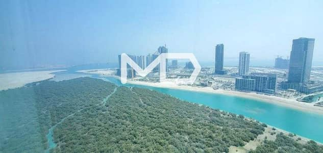 فلیٹ 2 غرفة نوم للبيع في جزيرة الريم، أبوظبي - 2 Beds | Large Layout | Maids Room | Full Mangrove View