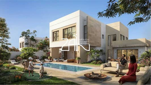 5 Bedroom Villa for Sale in Yas Island, Abu Dhabi - Book Your Golf Front Villa on Large Plot in Yas