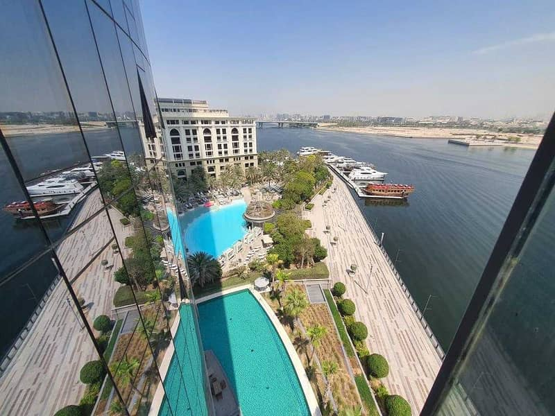 Vacant 1st Sept.   Creek View   Stunning 1BR