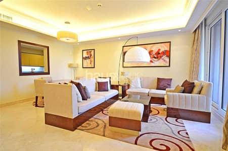فلیٹ 1 غرفة نوم للايجار في نخلة جميرا، دبي - Palm Crescent | Luxury Styling | Private Beach |