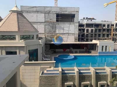 2 Bedroom Apartment for Rent in Jumeirah Village Circle (JVC), Dubai - 2 BR APARTMENT WITH POOL  VIEW IN JVC