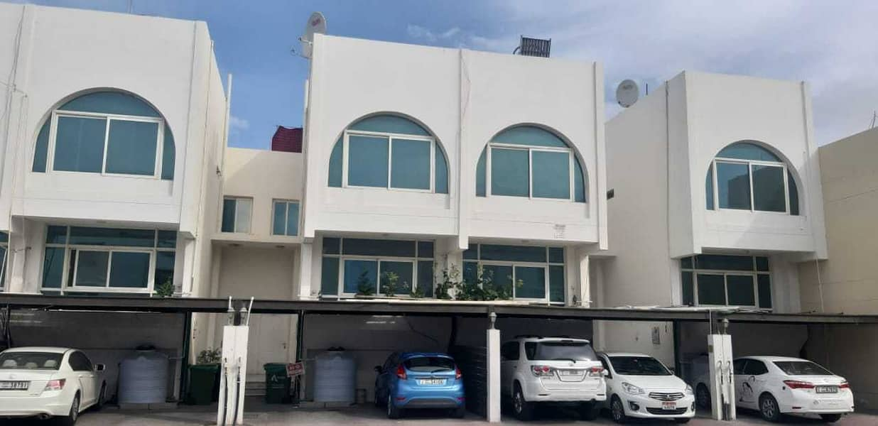 Great offer. . . 3 + Maid Town House for rent in Jaffliya. . . !!