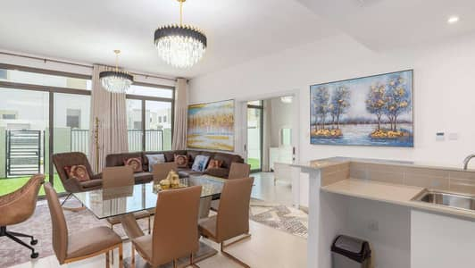 4 Bedroom Townhouse for Sale in Town Square, Dubai - EXCLUSIVE FULLY FURNISHED POOL AND PARK