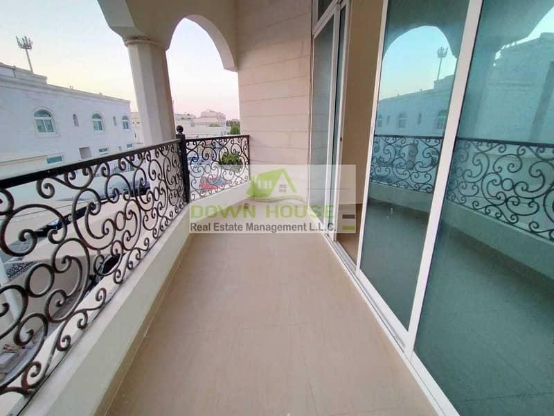 Huge 1 Bedroom W/ Balcony in Khalifa City A