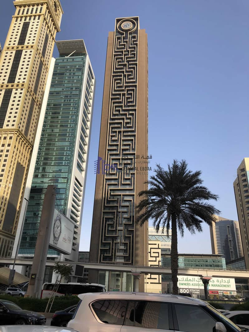 A luxury apartment for rent in Emirates towers