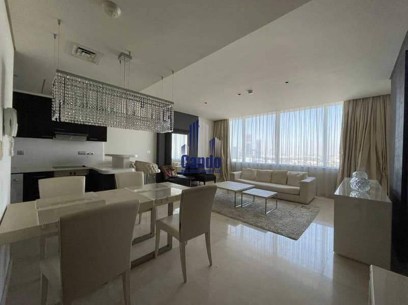 Fully Furnished & Luxurious One Bedroom in Sky Gardens