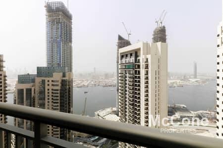 فلیٹ 1 غرفة نوم للايجار في ذا لاجونز، دبي - Creek View | High Floor | Modern living