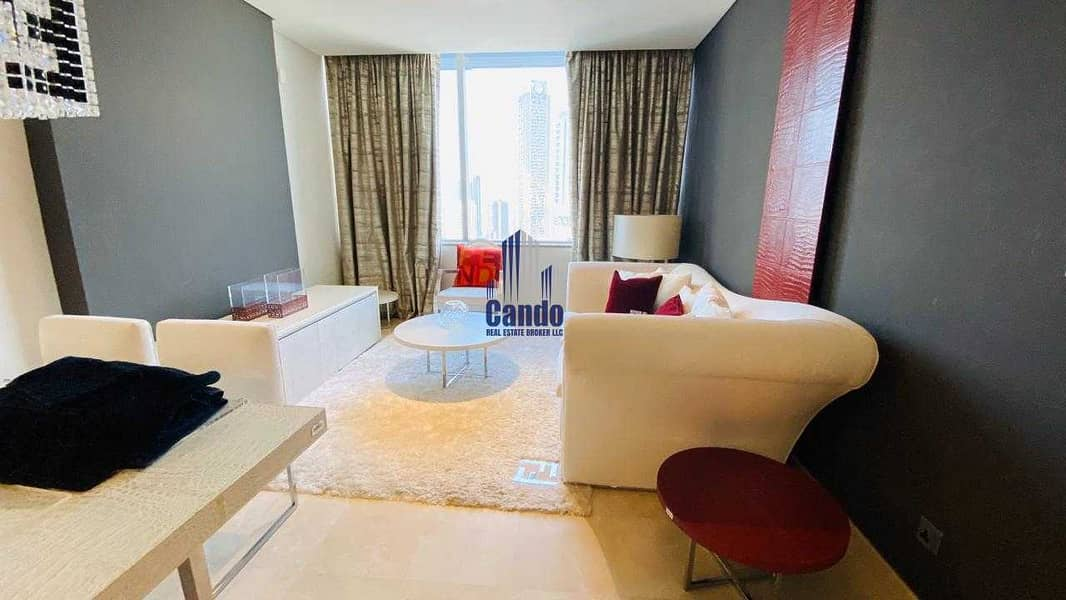Fully Furnished & Luxurious 1 Bedroom in Sky Gardens
