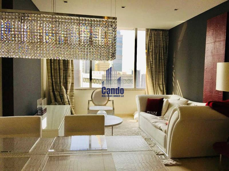 2 Fully Furnished & Luxurious 1 Bedroom in Sky Gardens