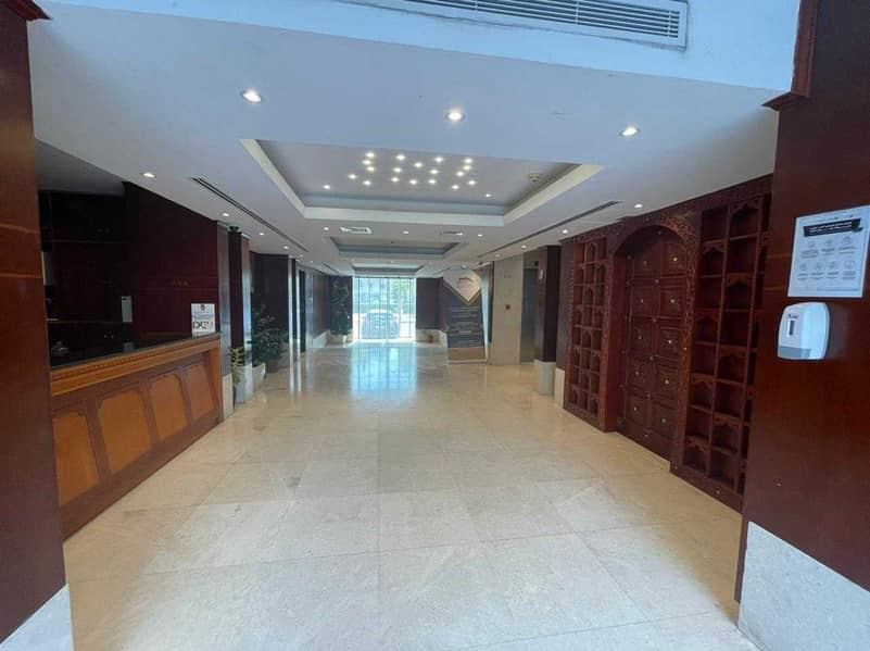 Shop For Rent In AlNahyan Area l Included ADDC Bills