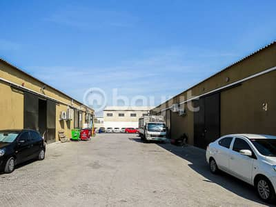 Warehouse for Sale in Ras Al Khor, Dubai - OFFER OF MONTH! 10 SHEDS WAREHOUSE FOR COMMERCIAL AND STORAGE WITH HIGH CEILING