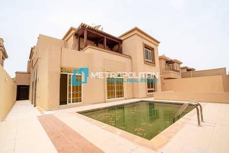 5 Bedroom Villa for Sale in Al Raha Golf Gardens, Abu Dhabi - Single Row   Maids Room   Pool and Garden   Vacant