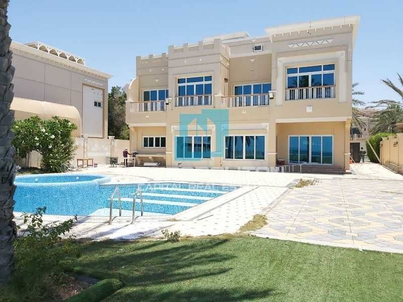 Full Sea View  Private Pool  Big Plot  Rent Refund