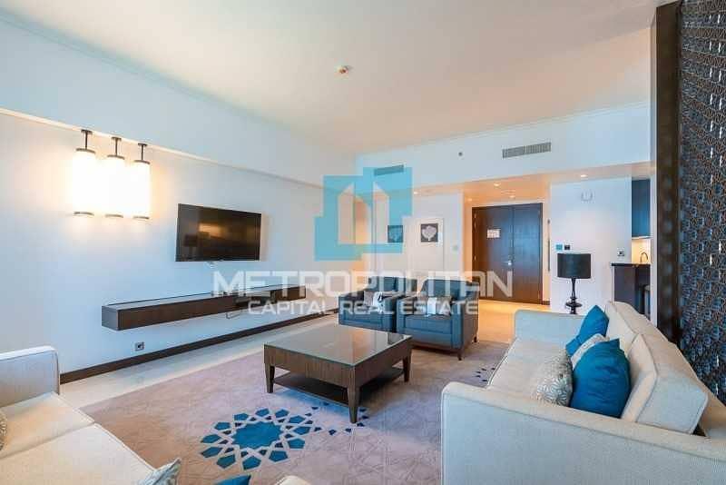 شقة في فيرمونت المارينا ريزيدنس مارينا 1 غرف 2150000 درهم - 5235053