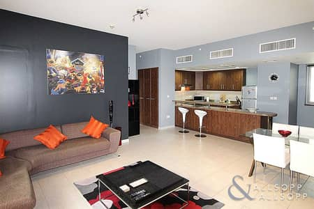 شقة 1 غرفة نوم للايجار في الخليج التجاري، دبي - Furnished | Spacious 1 Bed | Corner Unit