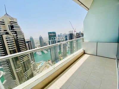 استوديو  للايجار في دبي مارينا، دبي - Stunning Studio - Sea Views - High Floor