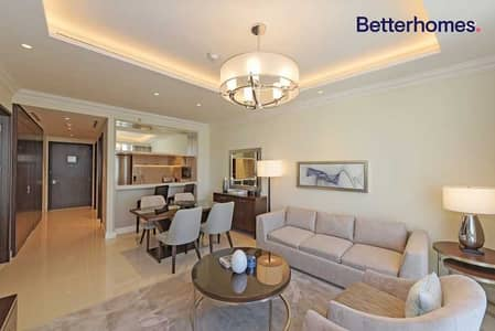 1 Bedroom Hotel Apartment for Rent in Downtown Dubai, Dubai - Full Fountain Views | Fully Serviced | Middle Unit