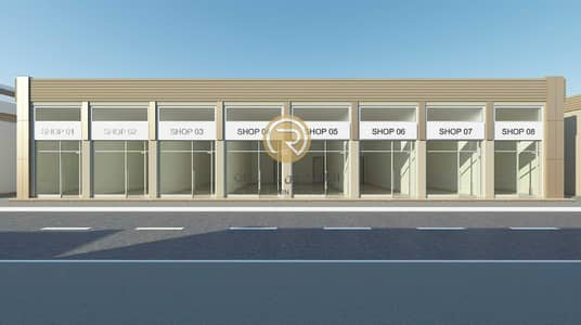 Shop for Sale in Al Aaliah, Ajman - For sale a commercial building in the Al Aaliyah area - Ajman directly