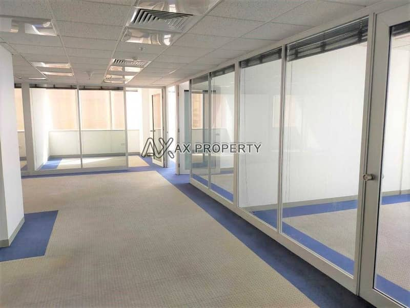 Very Huge and Fully Fitted and Partitioned Office
