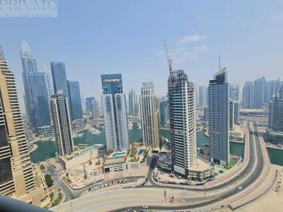 3 Bedroom Apartment for Rent in Dubai Marina, Dubai - Luxury Apartment with the Amazing View of Marina & Palm  Beach