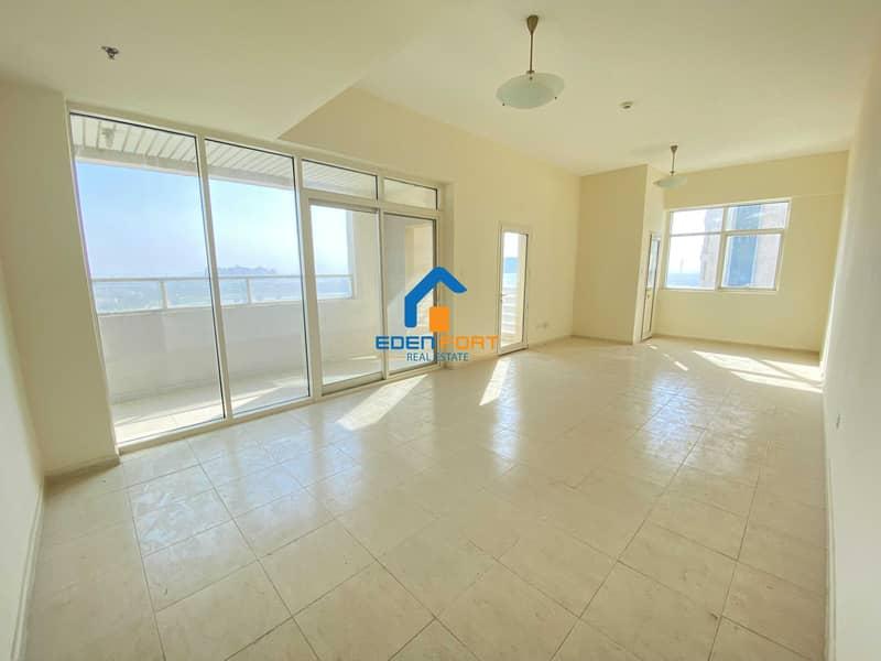 Huge Chiller Free 2 bedroom Unfurnished Apartment . . . .