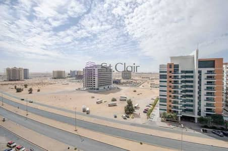 2 Bedroom Apartment for Rent in Dubai Residence Complex, Dubai - SKYCourts Tower Type A Huge 2 Bed Room Rent 39000