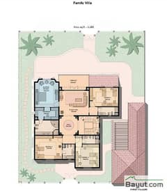 Family Villa 4 Bedroom 1st Floor