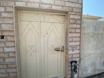 2 Bedroom Villa for Rent in Al Jazzat, Sharjah - cheap two-bedroom ground house in Jazzat