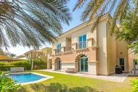 فیلا في کارمن فيكتوري هايتس مدينة دبي الرياضية 5 غرف 6550000 درهم - 5375732