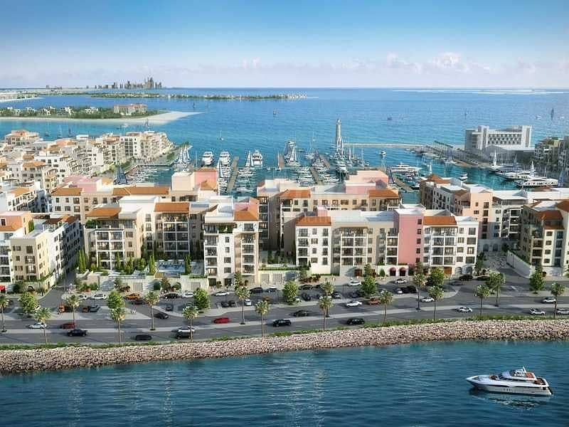Beachfront Living I Re-Sell I Partial Sea & Marina