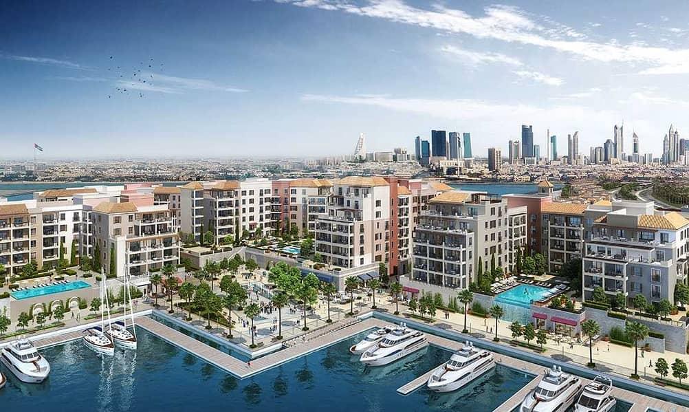 12 Beachfront Living I Re-Sell I Partial Sea & Marina