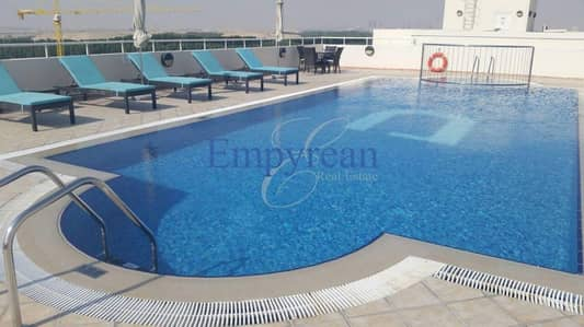 REDUCED Vacant Possession Studio Apartment in Madison Residency by Damac in Majan with Balcony and Parking