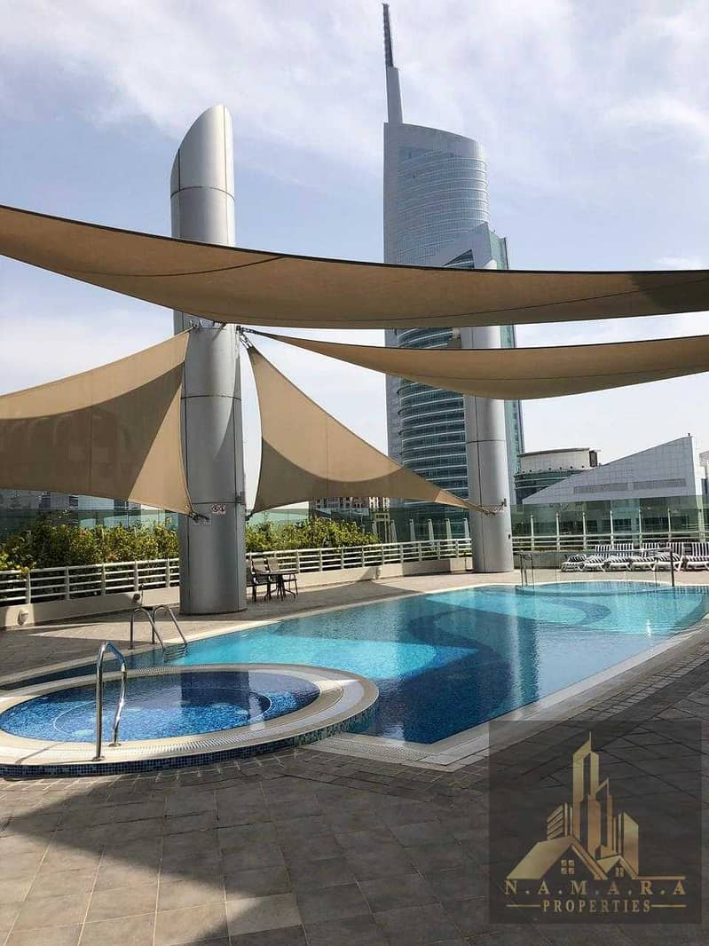 1 Bed Room  Huge Layout With Balcony / Near Metro / Only AED 58K