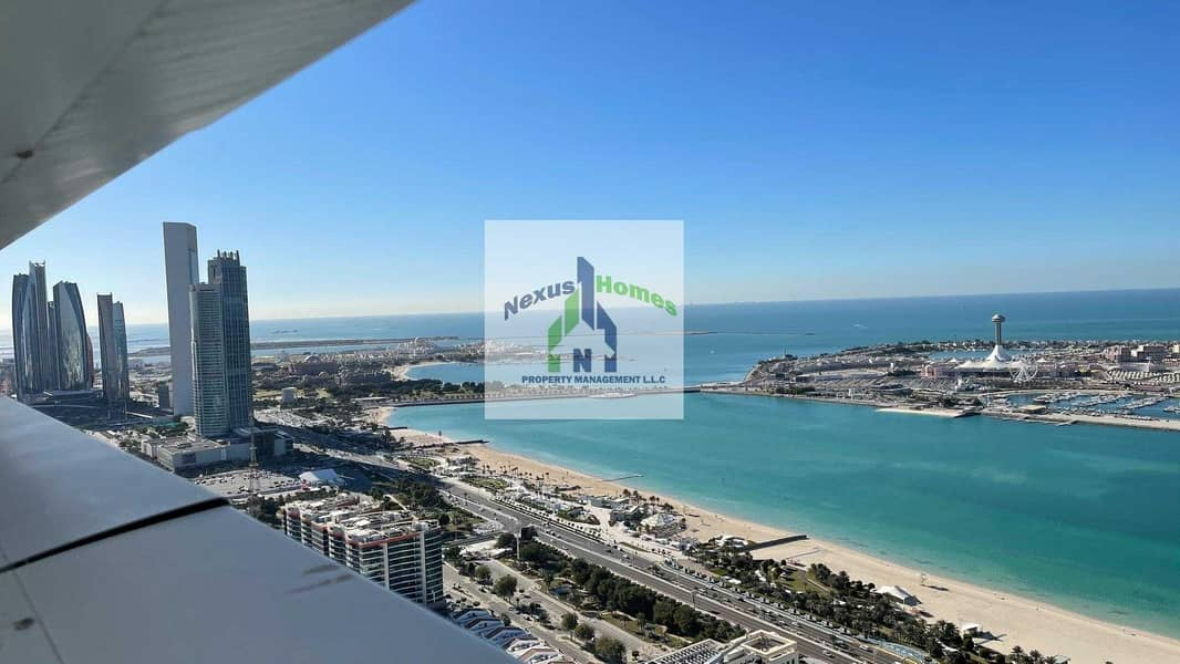 No Commission !! Beautiful Sea View | Spacious 1 BR Natural Lit