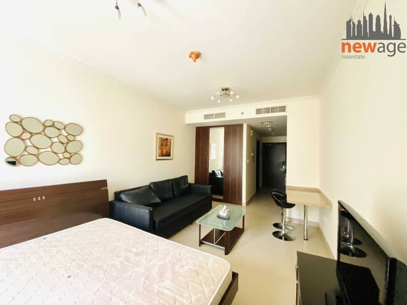 2 Lake View Furnished Studio For Rent In Goldcrest Executive JLT