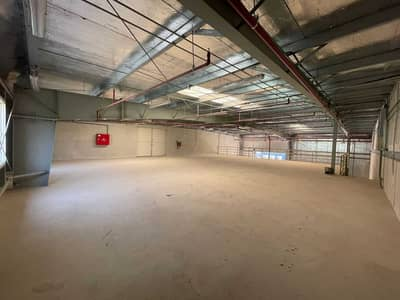 Warehouse for Rent in Al Quoz, Dubai - 100 KW POWER, 6,700 SQ FT BRAND NEW COMMERCIAL WAREHOUSE, READY OFFICE, 1 MONTH FREE.