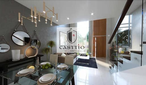 1 Bedroom Apartment for Sale in Dubailand, Dubai - At an amazing price, own a townhouse villa for only 650,000 dirhams in the center of Dubai
