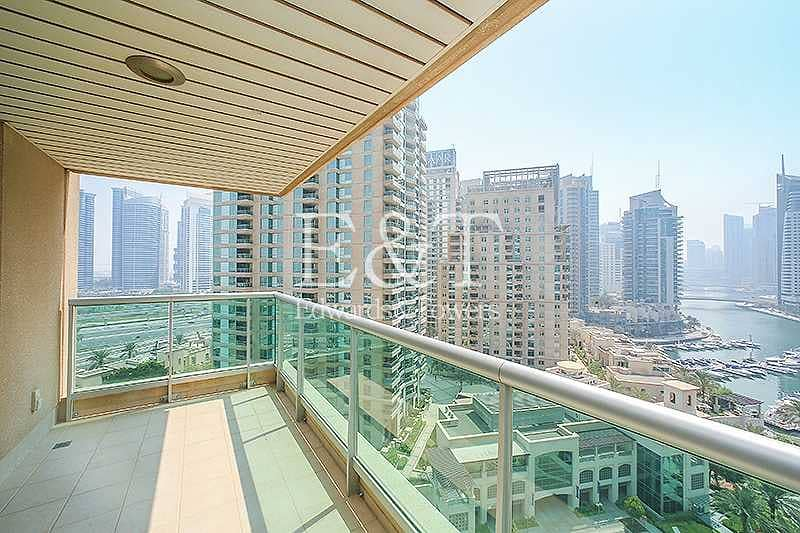 29 Exclusive: Full Marina View Unfurnished 2 parking