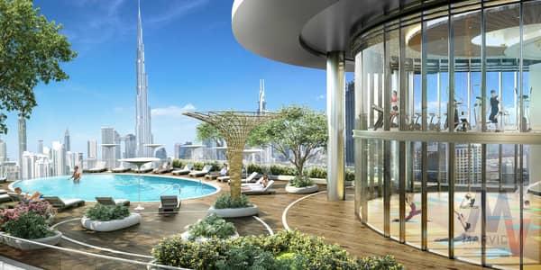 فلیٹ 2 غرفة نوم للبيع في وسط مدينة دبي، دبي - 03 Years Payment Plan   Un-obstructable view of  Burj Khalifa