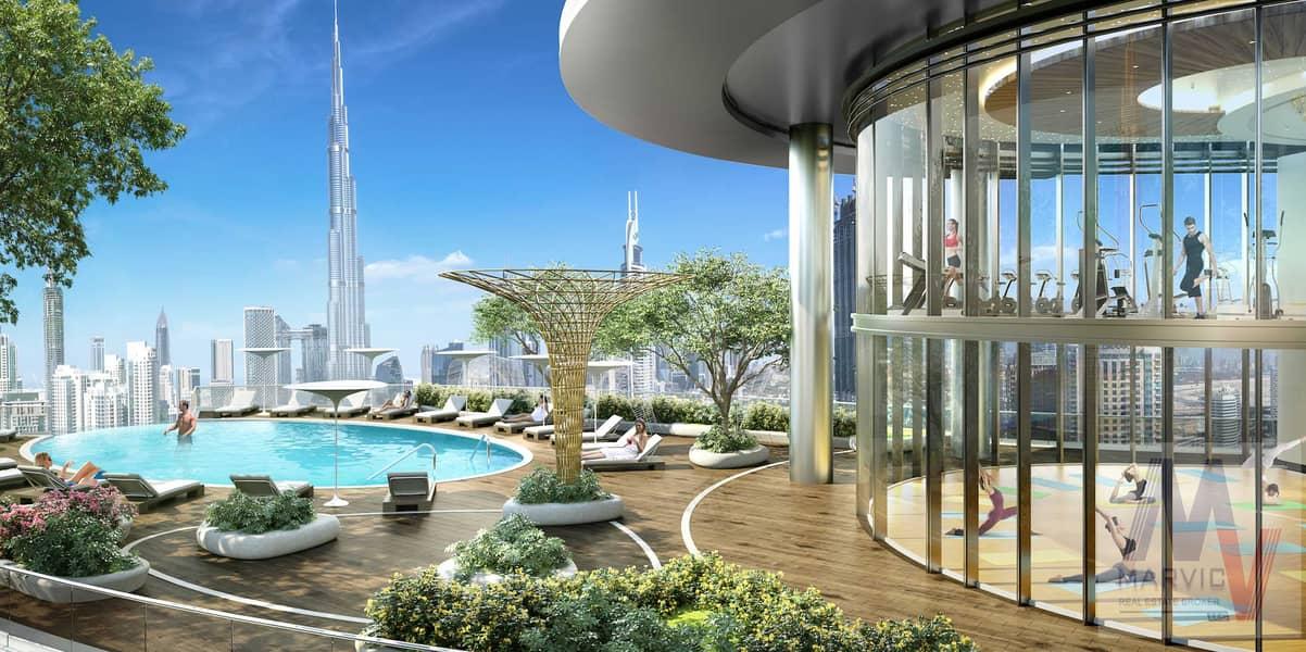 شقة في امبريل افينيو وسط مدينة دبي 2 غرف 2374201 درهم - 5149371