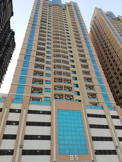 2 Bedroom Apartment for Rent in Emirates City, Ajman - Two-room apartment and a hall in the Emirates City Towers