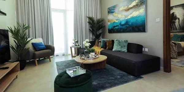 فلیٹ 1 غرفة نوم للبيع في الفرجان، دبي - تنازل عن 50٪ من رسوم التسجيل العقاري | شقق شبه مؤثثة